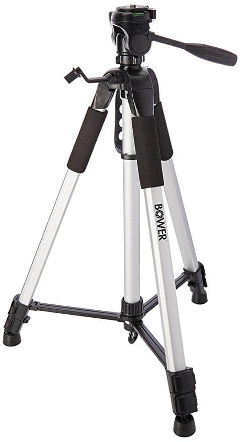 Bower VTSL7200 3-Section 72″ Tripod with Case
