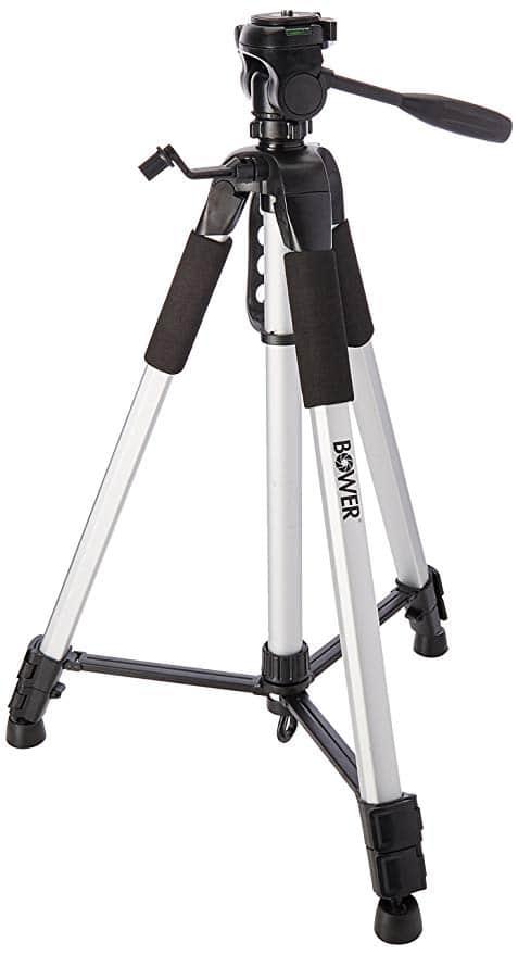 Bower VTSL7200 3-Section 72″ Tripod with Case
