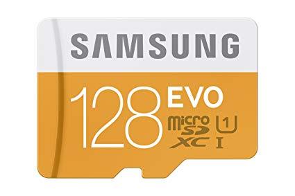 Samsung Evo Plus 128GB Microsdxc Card