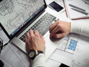 engineer-using-laptop