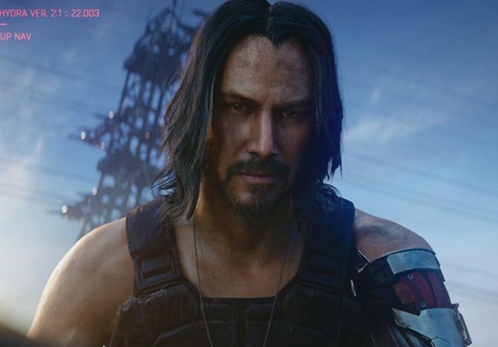 Cyberpunk 2077 - Johnny Silverhand without sunglassess