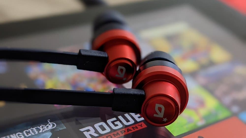 Red Astro Gaming A03 Earphones