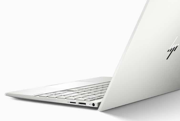 White HP Envy 13 Laptop