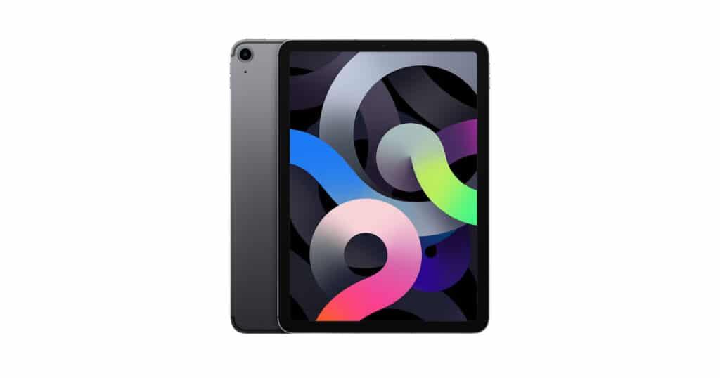 Black iPad air